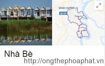 Ống thép Hòa Phát tại Huyện Nhà Bè