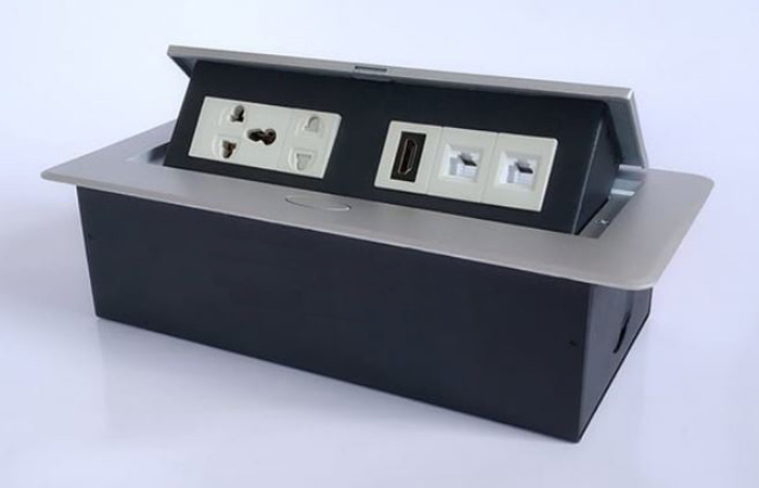 Hộp điện âm bàn đa năng